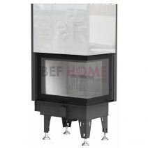 BEF AQUATIC WH V 80 CP inbouw CV-houtkachel met liftdeur