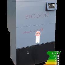 Biodom 27-A volledig automatische pelletketel uitgerust met tablet