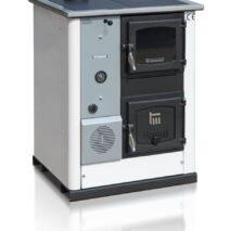 Temy Plus hout gestookt fornuis met CV-aansluiting 30 Kw